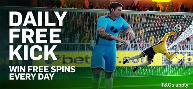 Free Kick Challenge – Win Free Spins Every Day!