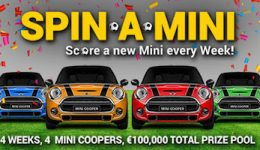 Win A Brand New Mini Cooper Car Every Week