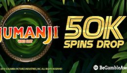 50K Free Spins Drop Is On At Bgo.com